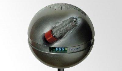 Очиститель воздуха Bioxigen SFERA на основе ионизации серебристый металлик