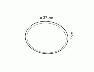 Форма для піци Tescoma Delicia, 32 см (8595028427028)