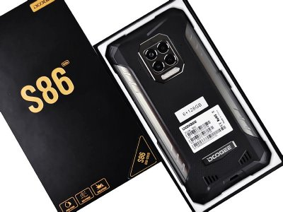 Мобильный телефон Doogee S86 (6+128Gb, АКБ 8500 мАч) Black