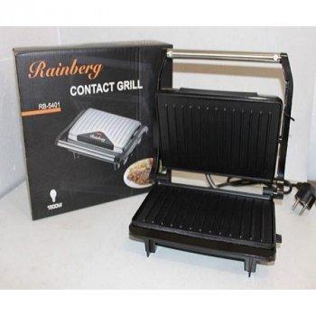 Електрогриль, сэндвичница, бутербродниця Rainberg RB-5401 1500w