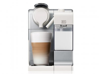 Капсульная кофемашина Nespresso Lattissima Touch EN560.S Silver (F521-EU-BK-DL) серебристая