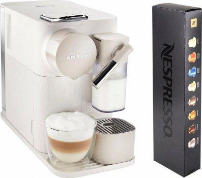 Капсульная кофемашина Nespresso Lattissima One EN 500 White белая