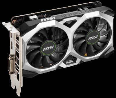 MSI PCI-Ex GeForce GTX 1650 D6 Ventus XS OCV1 4GB GDDR6 (128bit) (1620/12000) (DisplayPort, HDMI, DVI-D Dual-Link) (GTX 1650 D6 VENTUS XS OCV1)