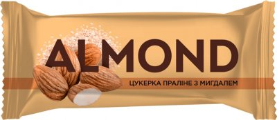 Упаковка конфет Світоч Almond Пралине с миндалем 2 кг (7613038118895)
