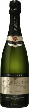 Шампанське JM Gobillard&Fils GrReserve Premier Cru біле брют 0.75 л 12.5% (3424715128052)