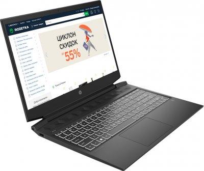 Ноутбук HP Pavilion Gaming 16-a0002ur (15D17EA) Dark Grey