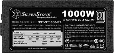Silverstone Strider 1000W 80+ Platinum (SST-ST1000-PT)