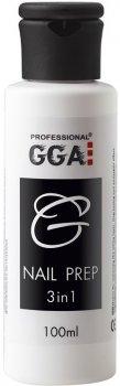 Засіб GGA Professional Nail-Prep 3-in-1 100 мл (1213077618323)