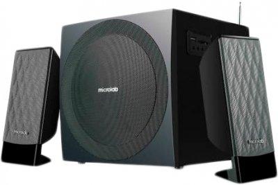 Акустическая система Microlab M-300U 2.1 Black