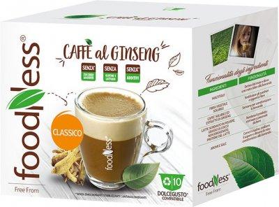 Кофейный капсульный напиток FoodNess Dolce Gusto Кофе с женьшенем классический 10 капсул х 12 г (8031848007342)