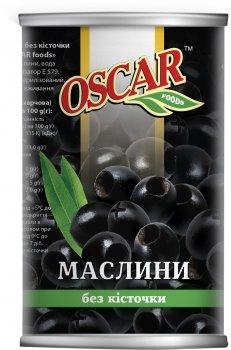 Маслины черные без косточки Oscar 400 г (8413552051345)