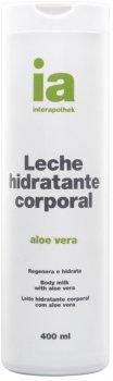 Крем-молочко для тела Interapothek Увлажняющее Восстанавливающее с экстрактом Алоэ Вера 400 мл (8430321005163)