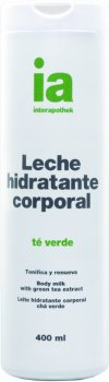 Крем-молочко для тела Interapothek Увлажняющее Тонизирующее с экстрактом зеленого чая 400 мл (8430321006856)