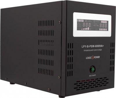 Комплект резервного живлення LogicPower B6000 + літеевая (LifePo4) батарея 11600 ват (LP12821)