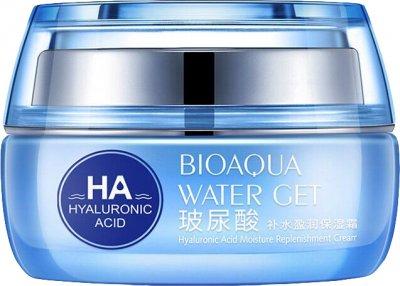 Омолаживающий крем для лица Bioaqua с гиалуроновой кислотой 50 г (BQY3955) (6947790793955)