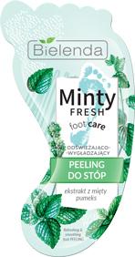 Маска-пилинг для стоп Bielenda Minty Fresh Foot Care Разглаживающая 10 г (5902169038267)