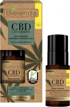 Сыворотка Bielenda CBD Cannabidiol для комбинированной и жирной кожи 15 мл (5902169036218)