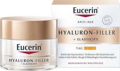 Дневной крем Eucerin Гиалурон-Филлер + Эластисити для биоревитализации и повышения упругости кожи с SPF30 50 мл (4005800269783)