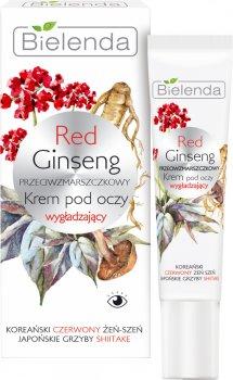 Крем под глаза Bielenda Red Ginseng Против морщин 15 мл (5902169038199)