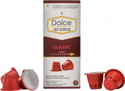 Капсула Dolce Aroma Classico для системы Nespresso 5 г х 10 шт (4820093484725)