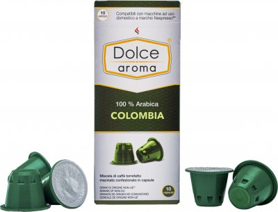 Капсула Dolce Aroma Colombia для системы Nespresso 5 г х 10 шт (4820093484862)