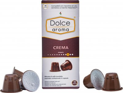 Капсула Dolce Aroma Crema для системы Nespresso 5 г х 10 шт (4820093484749)