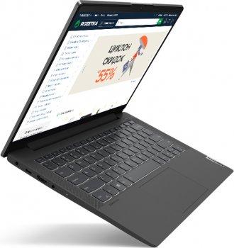 Ноутбук Lenovo IdeaPad 5 14IIL05 (81YH00PCRA) Graphite Grey