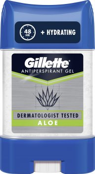 Гелевый дезодорант - антиперспирант Gillette Aloe 70 мл (8001841587684)