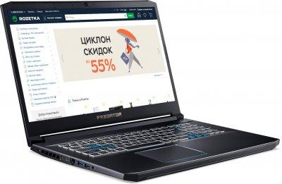Ноутбук Acer Predator Helios 300 PH317-54-5735 (NH.Q9WEU.004) Abyssal Black