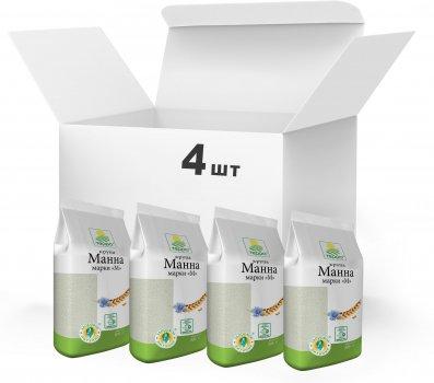 Упаковка Крупа манная Терра марки М 4 x 0.8 кг (4820015739131)
