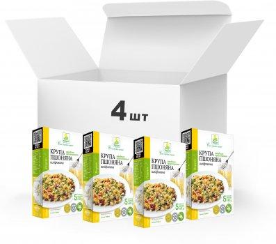 Упаковка Крупа Пшено шлифованное Терра быстрого приготовления 4 x 0.4 кг в варочном пакете (4820015739438)