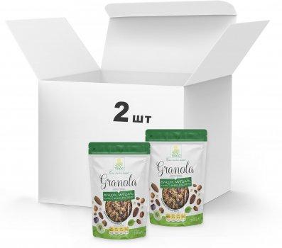 Набір Гранола Терра №8 з горіхами, кунжутом і фініками 2 x 250 г (4820015738806)
