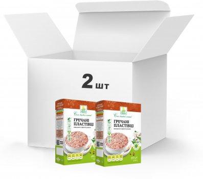 Упаковка Пластівці гречані Терра швидкого приготування 2 x 0.6 кг (4820015739407)