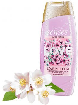 Крем-гель для душа Avon Любовь в цветении Лепестки и цветы жасмина 250 мл (94724) (ROZ6400103380)