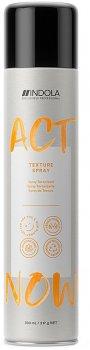 Спрей для волос текстурирующий Indola Act Now Texture Spray 300 мл (4045787575668)