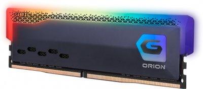 Оперативна пам'ять GeIL DDR4-3600 8192 MB PC4-28800 Orion RGB Titanium Gray (GOSG48GB3600C18BSC)