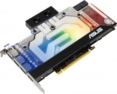 Asus PCI-Ex GeForce RTX 3080 EK WB 10GB GDDR6X (320bit) (1440/19000) (HDMI, 3 x DisplayPort) (RTX3080-10G-EK)