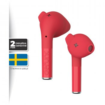 Навушники Defunc True Go Slim TWS Red (D4213)