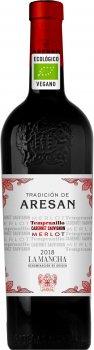 Вино Tradicion De Aresan Bio Et Vegan 2018 червоне сухе 0.75 л 13.5% (8436570000799G)