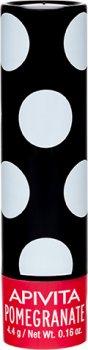 Бальзам для губ Apivita с гранатом, с оттенком 4.4 г (5201279073626)