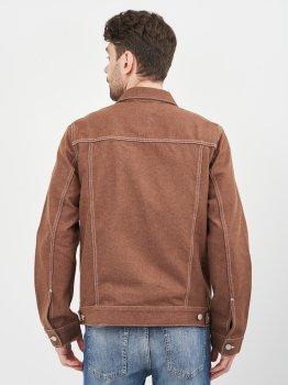 Джинсова куртка Weekday 1112-9511598 Коричнева