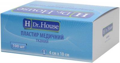 Пластырь медицинский тканевый H Dr. House 4 см х 10 см (5060384392158)