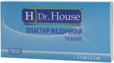 Пластырь медицинский тканевый H Dr. House 7.2 см х 2.5 см (5060384392172)