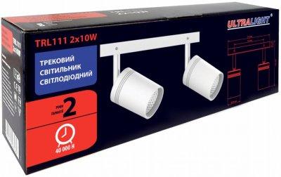 Спотовий світильник Ultralight TRL111 2x10 W білий (UL-51526)