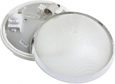 Настінно-стельовий світильник Lena Lighting CAMEA RCR 75 W E27 з датчиком руху (30808351)