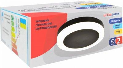 Точковий світильник Ultralight TRL625 6 W чорний (UL-51514)