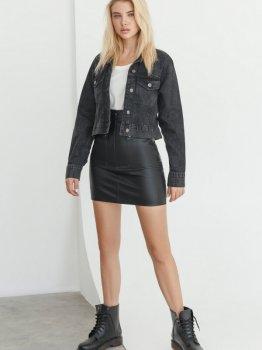 Джинсовая куртка Gepur 36170 Темно-серая