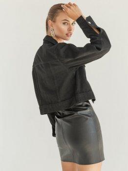Джинсовая куртка Gepur 36171 Черная