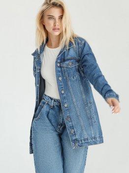 Джинсовая куртка Gepur 36172 Синяя