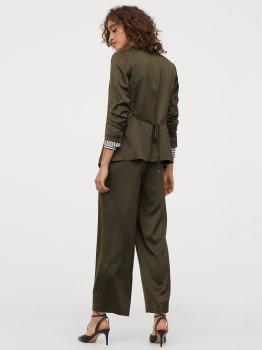Штани H&M 0820906-0 Зелені